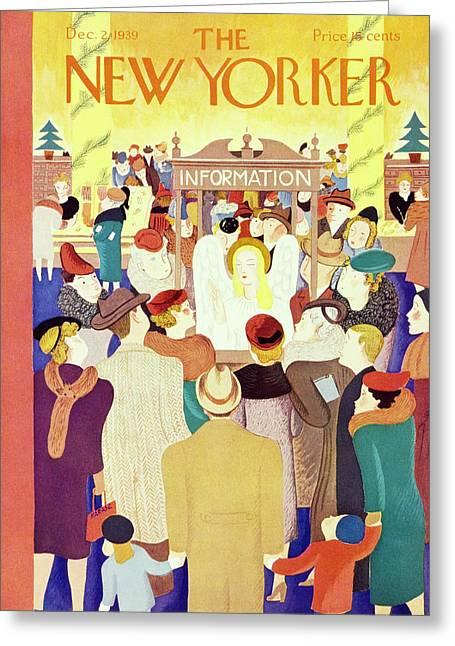 New Yorker December 2 1939 Greeting Card