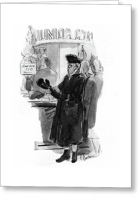 New Yorker December 20th, 1941 Greeting Card