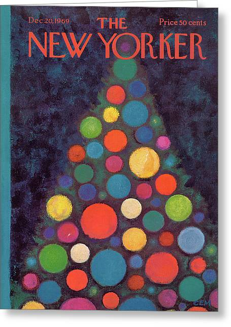 New Yorker December 20th, 1969 Greeting Card