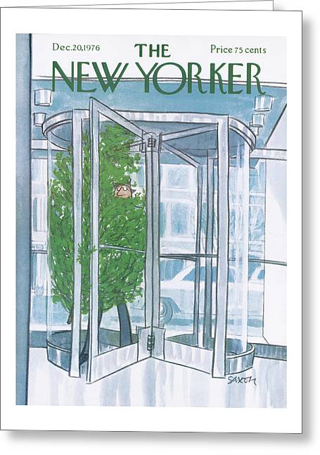 New Yorker December 20th, 1976 Greeting Card