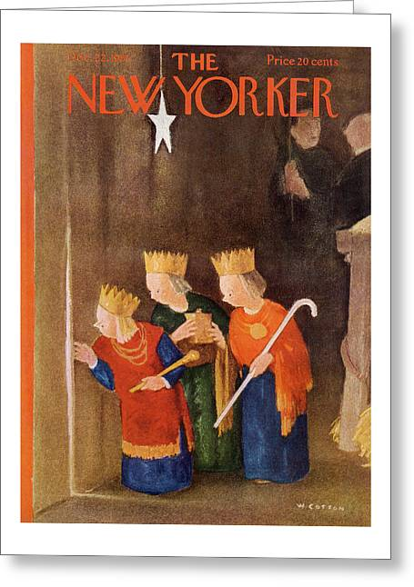 New Yorker December 22nd, 1951 Greeting Card
