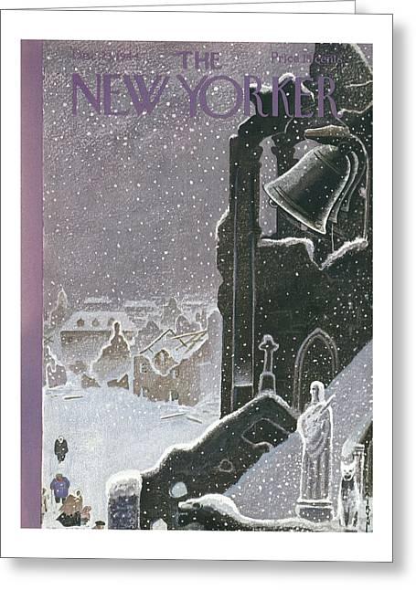 New Yorker December 23rd, 1944 Greeting Card