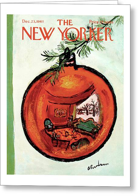 New Yorker December 23rd, 1961 Greeting Card