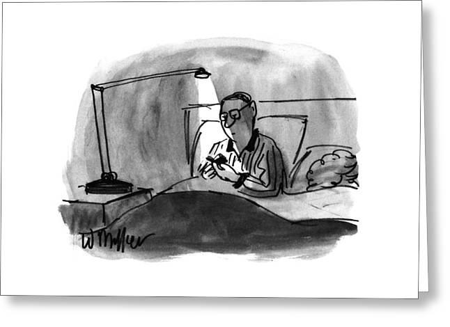 New Yorker December 23rd, 1996 Greeting Card