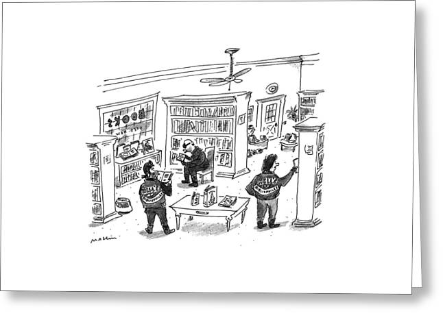 New Yorker December 25th, 1995 Greeting Card by Michael Maslin