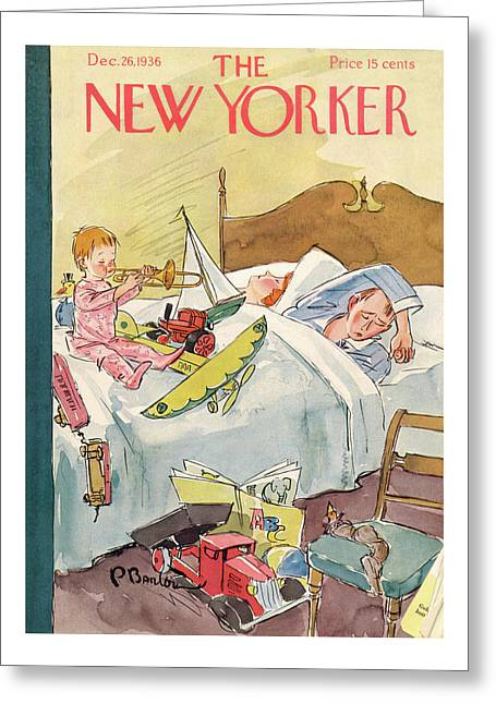 New Yorker December 26th, 1936 Greeting Card