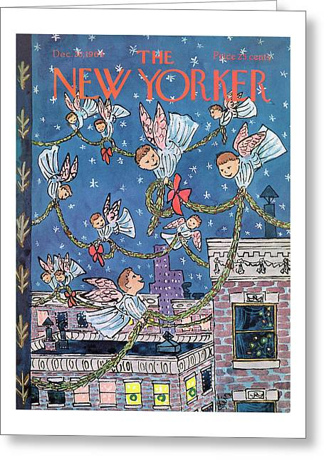 New Yorker December 26th, 1964 Greeting Card
