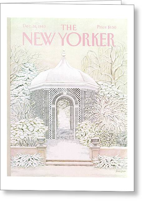 New Yorker December 26th, 1983 Greeting Card