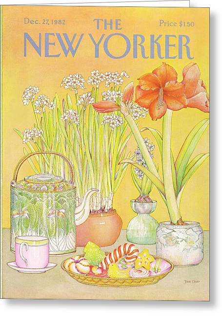 New Yorker December 27th, 1982 Greeting Card