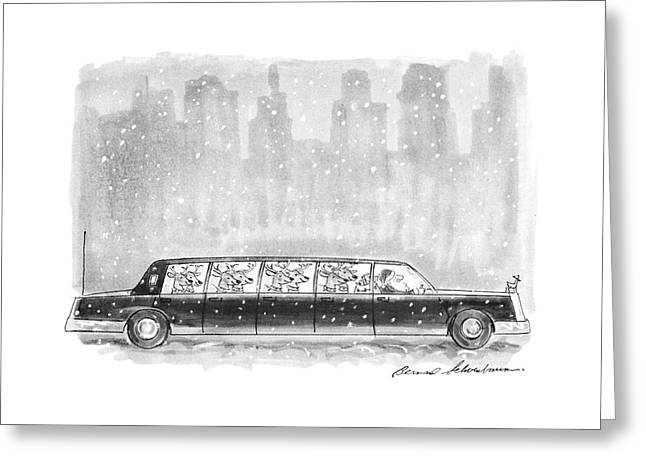 New Yorker December 27th, 1993 Greeting Card