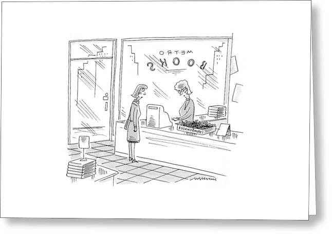 New Yorker December 27th, 1999 Greeting Card by Mick Stevens