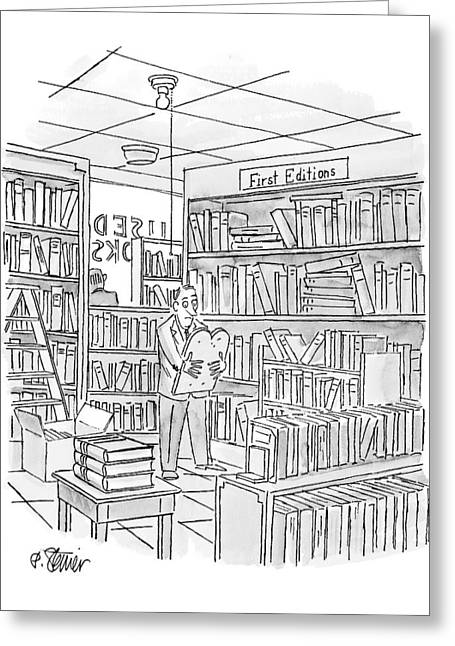 New Yorker December 27th, 1999 Greeting Card by Peter Steiner