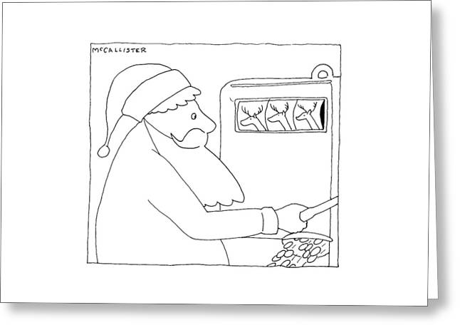 New Yorker December 28th, 1992 Greeting Card