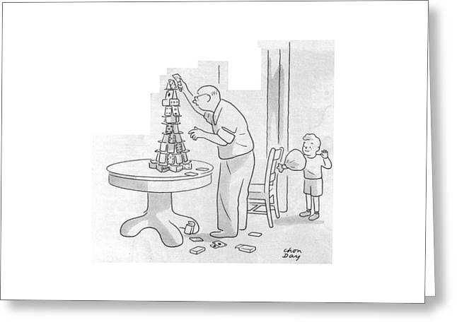 New Yorker December 2nd, 1944 Greeting Card