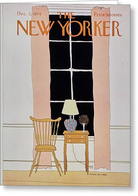 New Yorker December 2nd 1974 Greeting Card