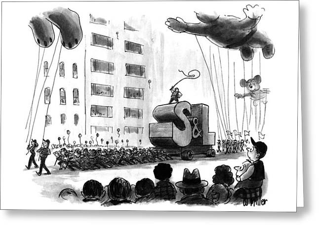 New Yorker December 2nd, 1991 Greeting Card by Warren Miller