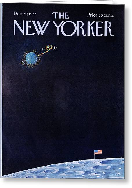 New Yorker December 30th, 1972 Greeting Card