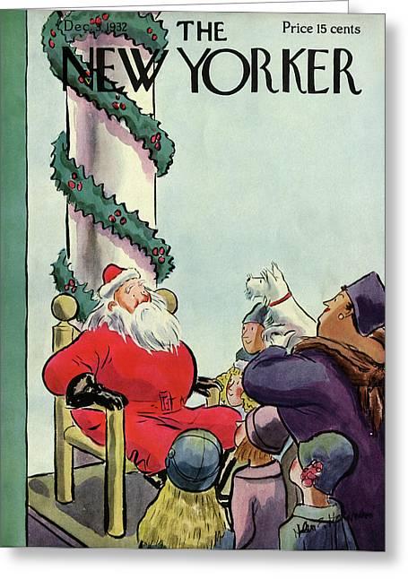 New Yorker December 3rd, 1932 Greeting Card