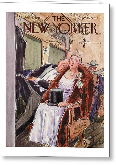 New Yorker December 3rd, 1938 Greeting Card
