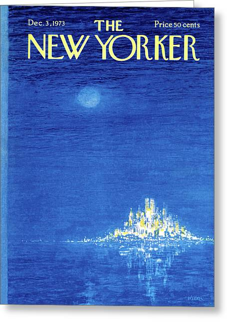 New Yorker December 3rd, 1973 Greeting Card