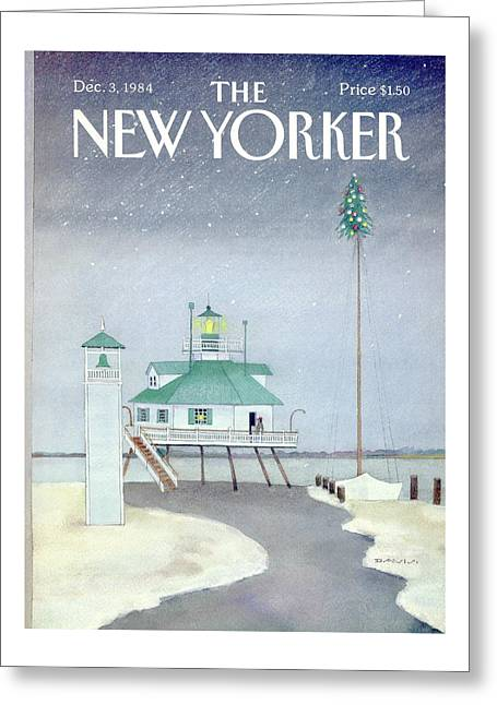 New Yorker December 3rd, 1984 Greeting Card