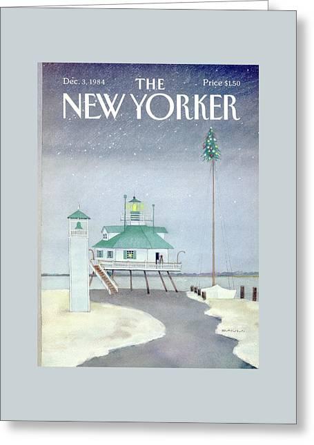 New Yorker December 3rd, 1984 Greeting Card by Susan Davis
