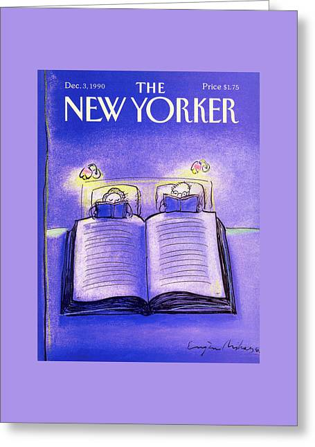 New Yorker December 3rd, 1990 Greeting Card by Eugene Mihaesco