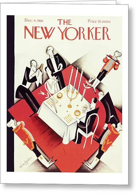 New Yorker December 4 1926 Greeting Card