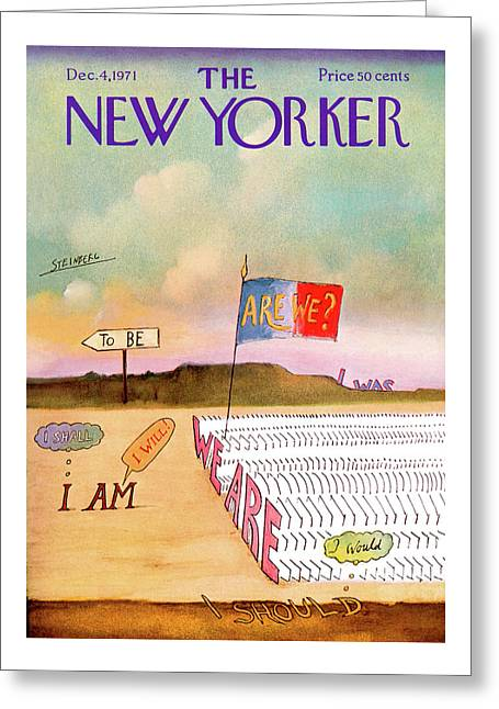 New Yorker December 4th, 1971 Greeting Card