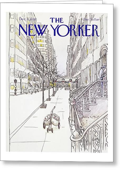 New Yorker December 4th 1978 Greeting Card by Arthur Getz