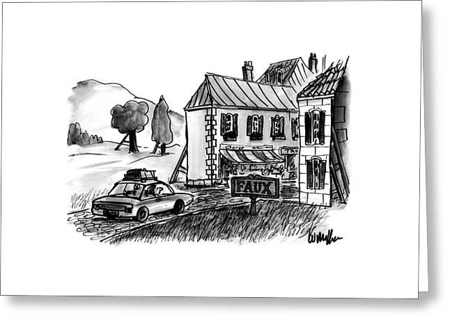 New Yorker December 4th, 1995 Greeting Card by Warren Miller