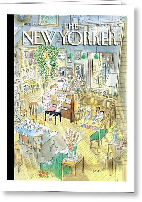 New Yorker December 4th, 2006 Greeting Card