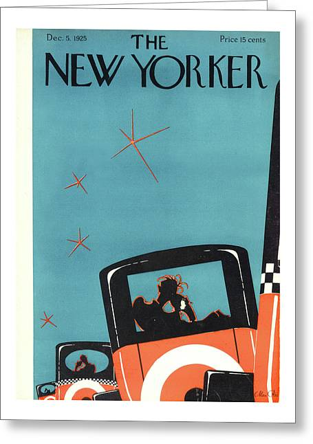 New Yorker December 5th, 1925 Greeting Card