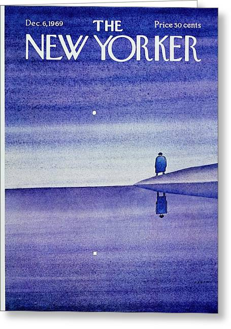 New Yorker December 6th 1969 Greeting Card