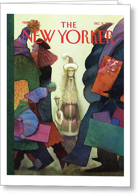 New Yorker December 6th, 2004 Greeting Card