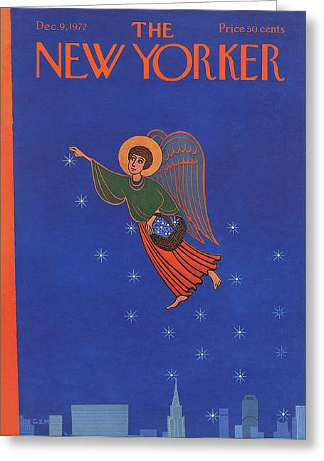 New Yorker December 9th, 1972 Greeting Card