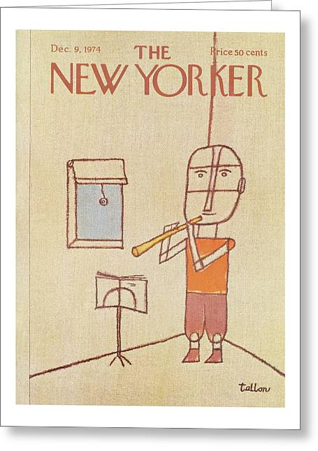 New Yorker December 9th, 1974 Greeting Card