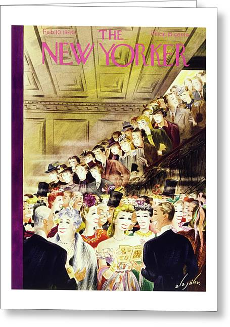 New Yorker February 10 1940 Greeting Card