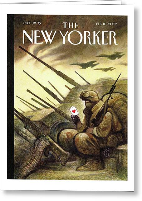New Yorker February 10th, 2003 Greeting Card