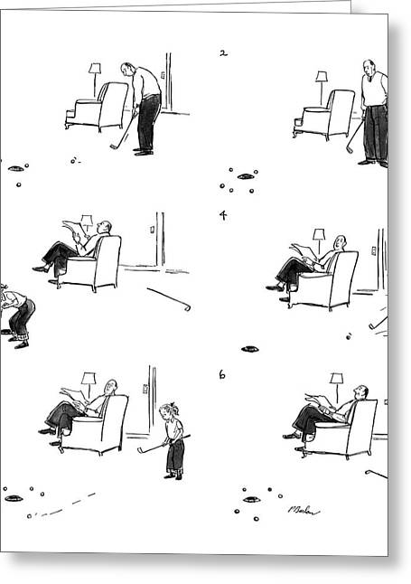 New Yorker February 11th, 1956 Greeting Card