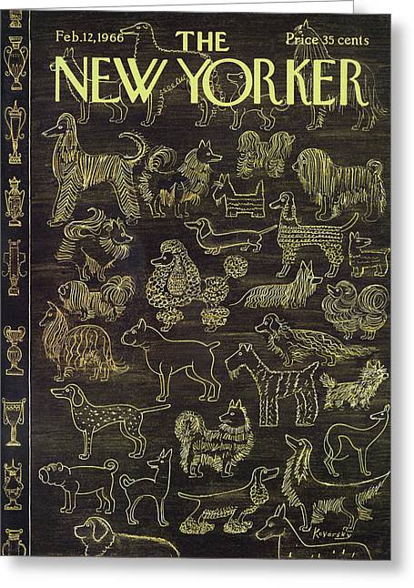New Yorker February 12th, 1966 Greeting Card
