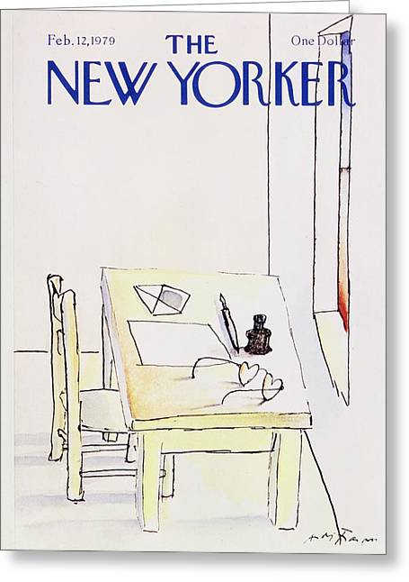 New Yorker February 12th 1979 Greeting Card