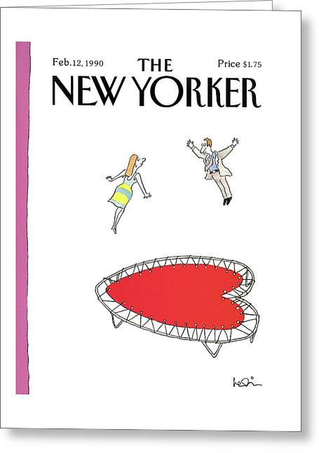 New Yorker February 12th, 1990 Greeting Card