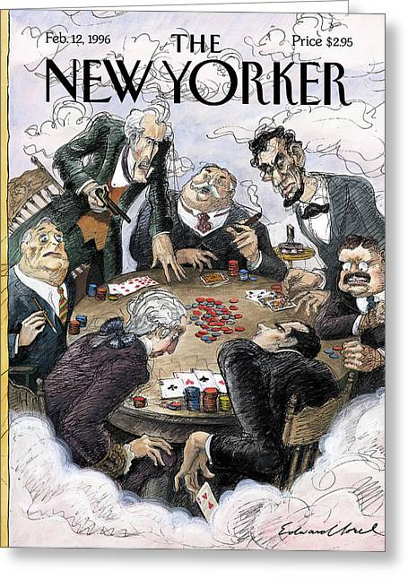 New Yorker February 12th, 1996 Greeting Card
