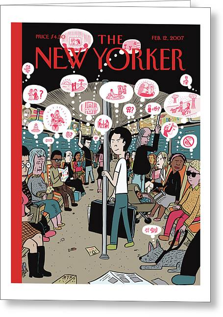 New Yorker February 12th, 2007 Greeting Card