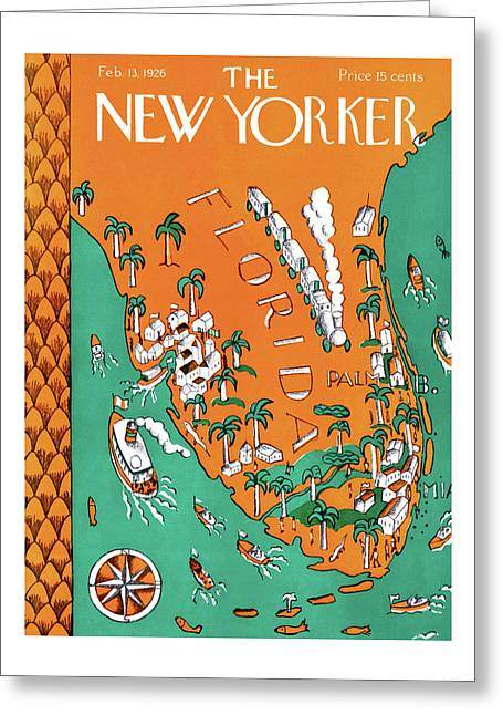 New Yorker February 13th, 1926 Greeting Card