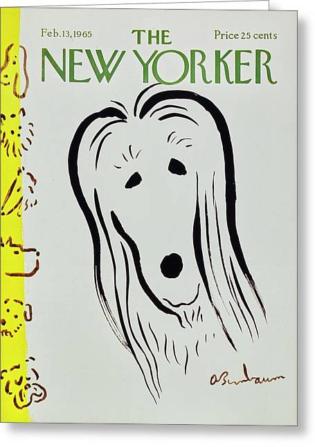 New Yorker February 13th 1965 Greeting Card