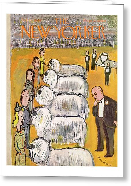 New Yorker February 14th, 1948 Greeting Card