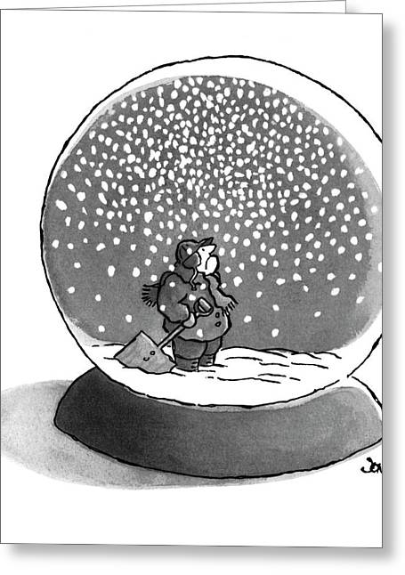 New Yorker February 14th, 1977 Greeting Card