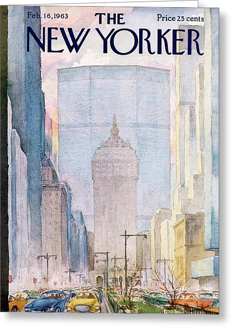 New Yorker February 16th, 1963 Greeting Card by Alan Dunn